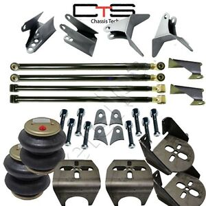 Weldon Triangulated 4link Kit Rear Brackets 2600 Bags Airride Suspension3 00 Axl