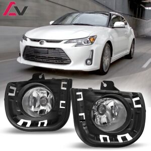 14 16 For Scion Tc Clear Lens Pair Bumper Oe Fog Light Lamp Wiring Switch Kit
