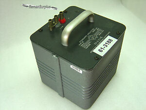 Used General Radio 1482 r Standard Inductor 5h 0 1 Tested Good 1482r
