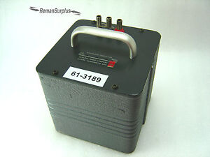 Used General Radio 1482 k Standard Inductor 5mh 0 1 Tested Good 1482k