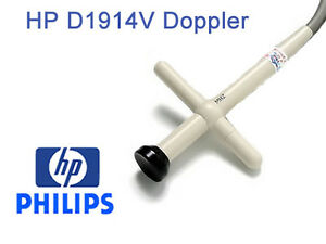 Hp philips D1914v Pencil Doppler Transducer Probe For Ultrasound Systems