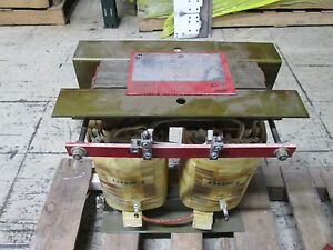 Hammond Transformer 134230 11kva Pri 2400v Sec 160v Type An Used