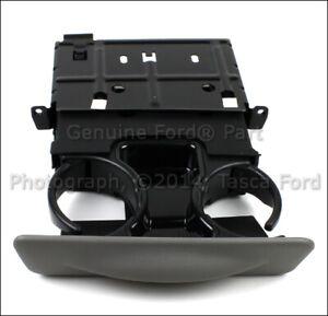 New Oem Graphite Gray Dash Cup Holder 99 01 Ford F250 F350 F450 F550