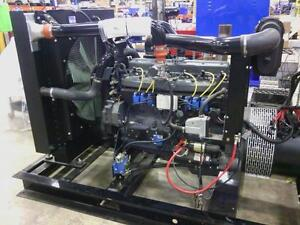 100kw Natural Gas Open Skid Generator Set