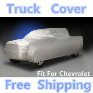 Truck Pickup Car Cover Breathable Sun Uv Rain Dust Resistant For Chevrolet 6 5m