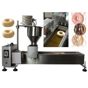 1 Mold Commercial Donut Fryer maker Automatic Donut Making Machine ce Approved