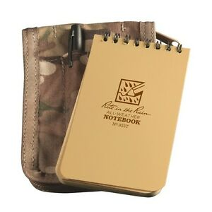 Rite In The Rain 935m kit All weather Universal Spiral Notebook Kit Tan multi