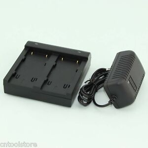 New Trimbl Dual Charger for Trimble 5700 5800 r8 r7 r6 Gnss Gps Batteries