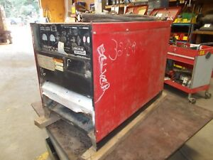 Lincoln Idealarc Dc 600 Arc Welder Power Source 600a Rectifier Type