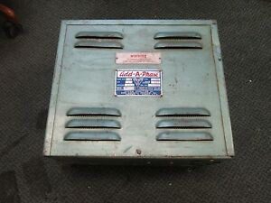 Add a phase Phase Converter Type 2he Mod 64a 3hp 13a 230v 1ph Used