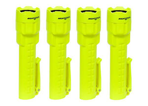 4 pack Of Bayco Nightstick Xpp 5420g Polymer Intrinsically Safe Flashlights