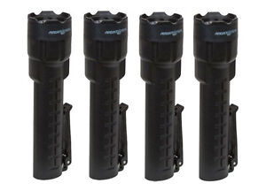 4 pack Of Bayco Nightstick Xpp 5420b Polymer Intrinsically Safe Flashlights