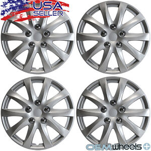 4 New Oem Silver 15 Hub Caps Fits Ford Windstar Center Wheel Covers Set