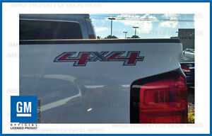 2 2015 4x4 Decals F Stickers Parts Chevy Silverado Gmc Sierra Truck Bed Side