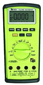 Tpi 183a True Rms Digital Multi meter With Temperature Capacitance