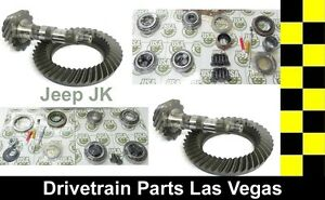 Jeep Dana 44 30 4 11 Ratio Jk Wrangler Front Rear Ring Pinion Master Kit Pkg
