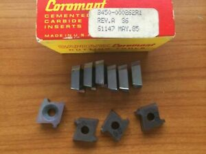 10 Pcs Sandvik Coromant B450 000262r1 S6 Threading Lathe Carbide Inserts Tools