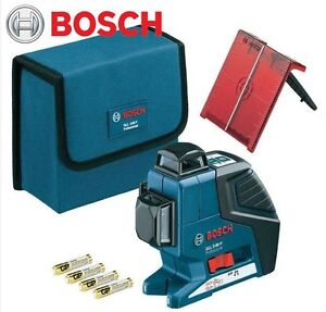 Bosch Gll3 80 Professional 360 degree 3 plane Leveling Alignment Line Laser