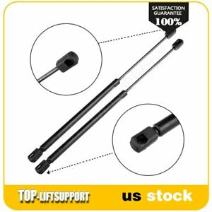 2 Front Hood Lift Supports Struts Struts Gas Springs For 2002 2007 Jeep Liberty