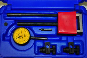 Central 6407 Universal Dial Indicator Test Set 0 5mm R 0 02mm G Gr Made In Usa