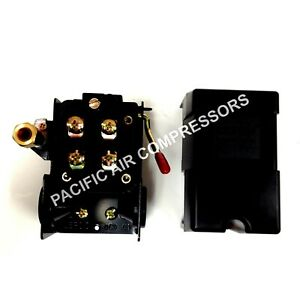 Air Compressor Replacement Pressure Switch Four Port 95 125 Psi