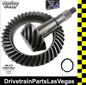 Gm Chevy 9 5 14 Bolt Ring And Pinion Gear Set 4 88 Ratio Motive Blue Oem Level