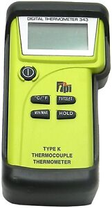 Tpi 343c3 Dual Input K type Thermocouple Thermometer With Field Calibration
