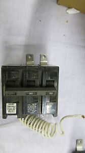 Siemens B25000s01 50 Amp 240 Volt Bolt On Circuit Breaker W shunt Trip Warranty