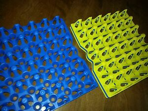 12 Chicken Or Guinea Egg Trays For Incubator Storage Cleaning Holds 30 Eggs
