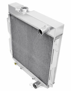 1960 1965 Ford Econoline Pickup Trucks Aluminum 3 Row Champion Radiator