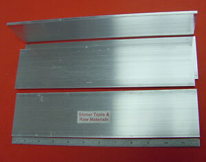 4 Pieces 3 16 X 3 Aluminum 6061 Flat Bar 12 Long Extruded Mill Stock
