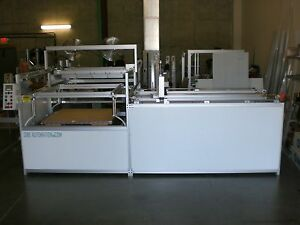 Sibe Automation Continuous Vacuum Forming Machine 48 X 48 Roll Stock Sheet