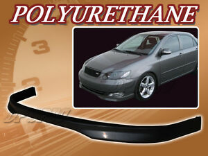 For 05 06 Toyota Corolla T R Poly Urethane Pu Front Bumper Lip Spoiler Body Kit