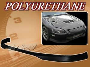 For 93 97 Honda Del Sol T r Poly Urethane Pu Front Bumper Lip Spoiler Body Kit