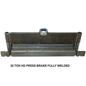 Swag Off Road 20 Ton Hd Press Brake Kit fully Welded
