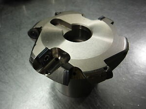 Mitsubishi 4 Indexable Face Mill Afp4 000r508 1 25 Arbor loc1438d