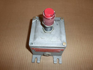 Adalet X1 Explosion Proof Extended Red Pushbutton Switch