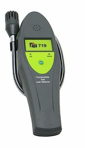 Tpi 719 Combustible Gas Leak Detector With 16 Goose Neck 30 Ppm Sensitivity