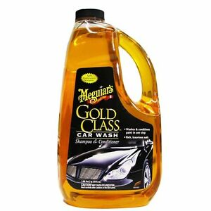 Meguiar S Gold Class Car Wash Shampoo And Conditioner 64oz New