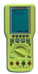 Test Products International Tpi 440 Oscilloscope true Rms Dmm