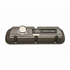 Ford Racing 289 302 351w Except Efi Black Satin Valve Covers M 6582 A301r