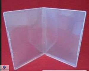 Ultra Clear Dvd Style Multi Storage Case 14mm Empty Without Disc Holder Aaa