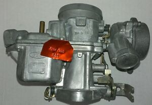 1971 72 Pinto 98cid New Ford Autolite 1v Carb Stamped 711w Bdb P N 22 001new