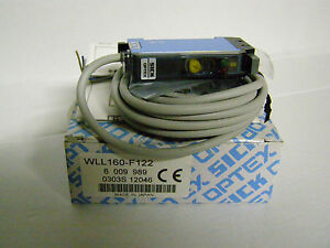 Sick Fiber Optic Sensor Wll160 f122