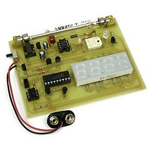 Kitsusa K 7071 Display Geiger Counter Diy Kit solder Version