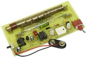 Kitsusa K 7082 Dual Tube Geiger Counter Kit solder Version