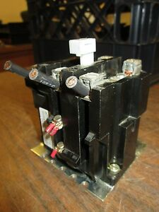Westinghouse Thermal Overload Relay Ba23jp 600vac Ambient Compensated Used