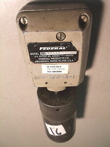 Used Federal Maxum Drop Indicator Dei 5111 Free Shipping