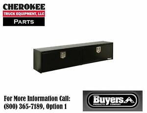 Buyers Products 1702940 Steel Topside Toolbox 16 H X 13 D X 72 w