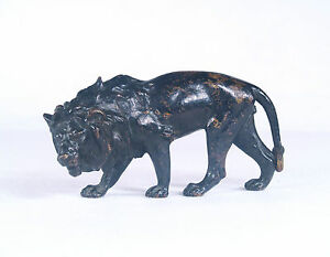 Antique Vienna Austria Bronze Lion C 1900